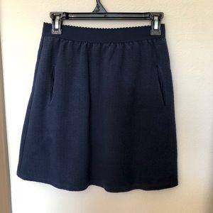 3/$30☀️Anthropologie Postmark Casual Navy Skirt
